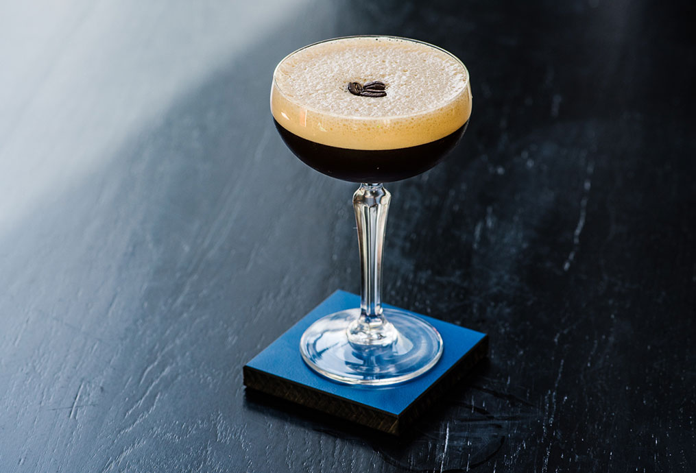 Expresson Martini cocktail